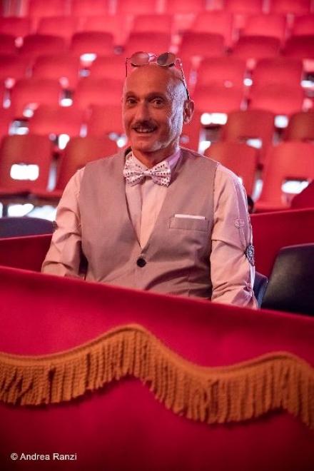 Luciano Manzalini in Il conte magico. Foto di Andrea Ranzi - 1