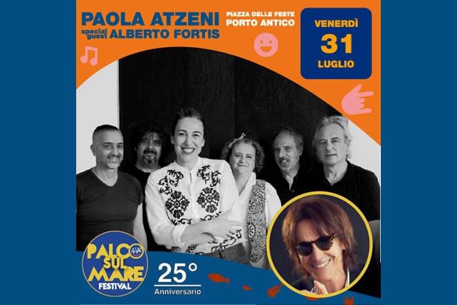 Paola Atzeni live a Genova