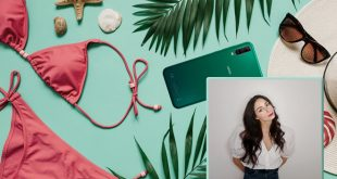 iAia, al secolo Rita Soffiaturo tra smartphone e bikini