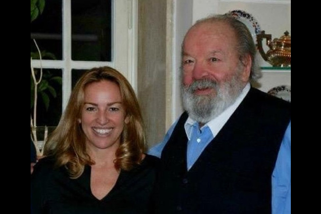 Christiana Pedersoli con Bud Spencer