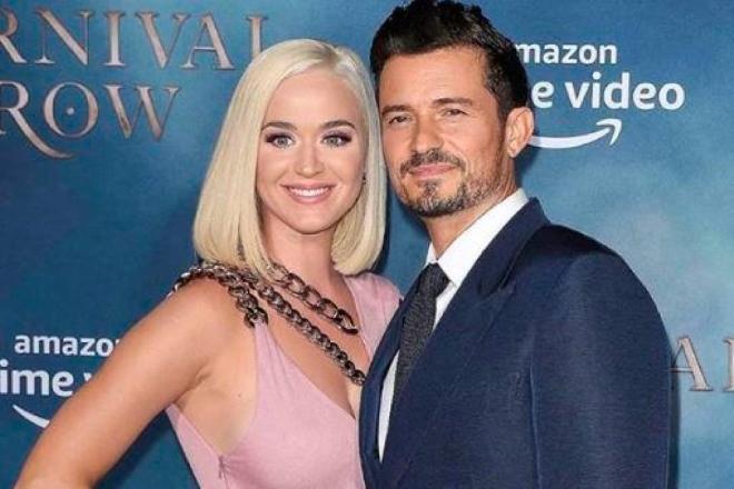 Fiocco rosa per Katy Perry e Orlando Bloom. Foto dal Web