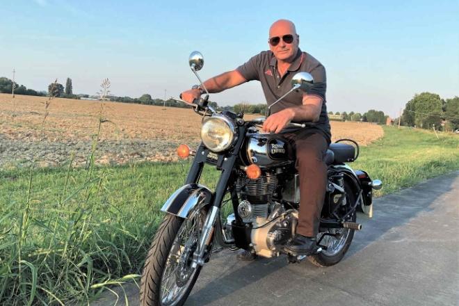 Franco Trentalance in moto