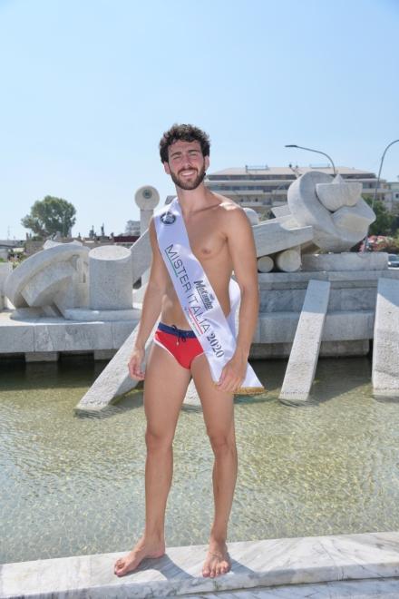 Giuseppe Moscarella, Mister Italia 2020