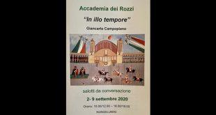 I racconti di Giancarlo Campopiano all'Accademia dei Rozzi a Siena