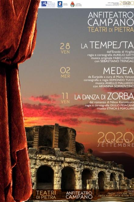 Teatri di Pietra all'Anfiteatro Campano di Santa Maria Capua Vetere