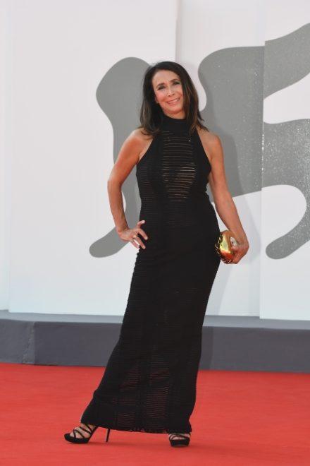 Anna Cuocolo su Red Carpet di Venezia77. Foto di A Pattaro da Ufficio Stampa. Copyright Vision Venezia