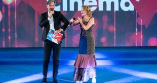 Beppe Convertini e Antonella Ponziani. Foto di Nando Forzisi