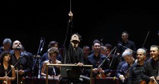 Ezio Bosso in concerto. Foto dal Web
