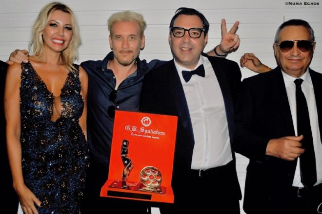 Gabriel Cash e Antonio Chiaramonte a Venezia 2020. Foto di Numa Echos