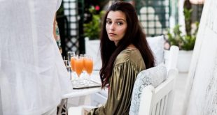 Gaia Girace, madrina del Social World Film Festival 2020. Foto di Lucia De Luise