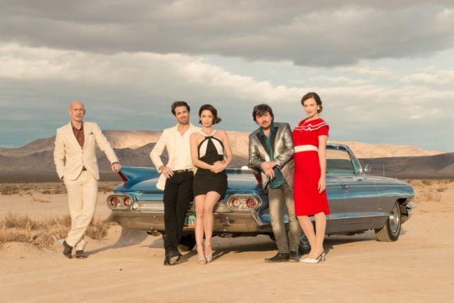 Il cast di Divorzio a Las Vegas