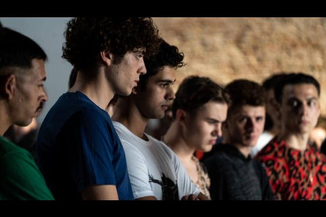 Il cast di Mare Fuori. Foto di Sabrina Cirillo