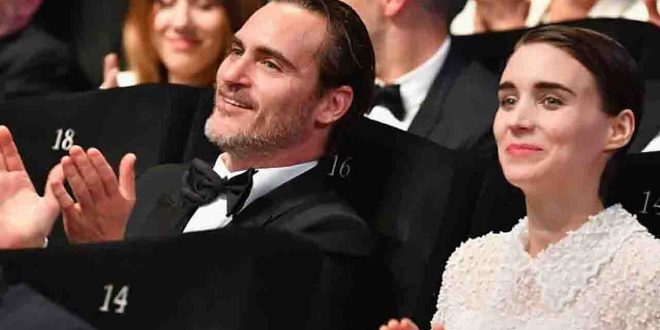 Joaquin Phoenix e Rooney Mara neo-genitori di River