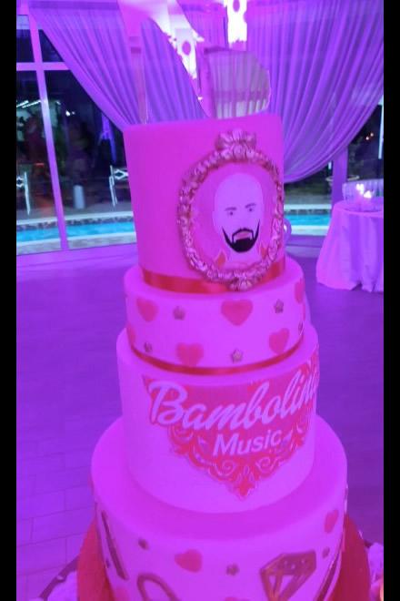 La torta personalizzata