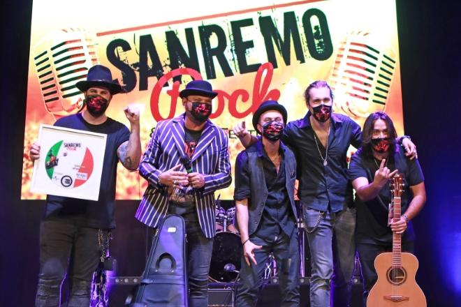 Magenta9 a Sanremo Rock 2020. Foto di Nino Saetti
