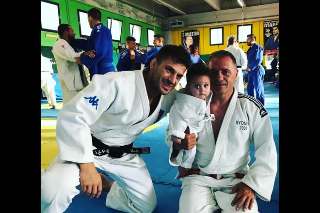 Marco e Gianni Maddaloni. Foto da Instagram