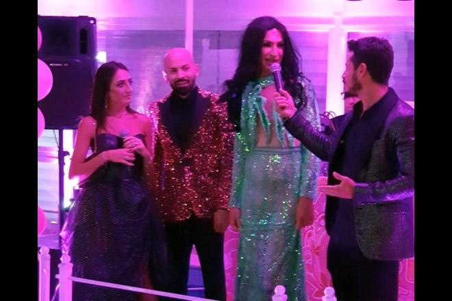 Mery Esposito, Enzo Bambolina, Laura La Divina e Lee Rush