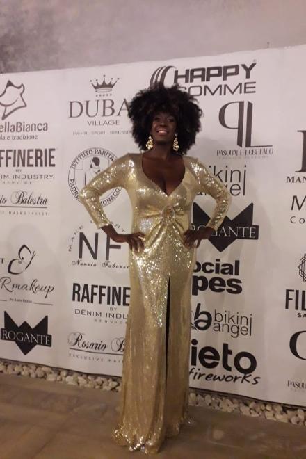 Reneè Sylvie Lubamba al party