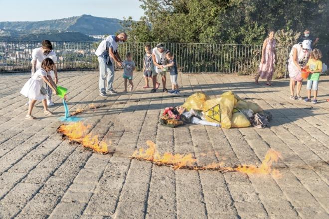 Slobodanka Ciric protagonista di Terra dei Fuochi olim Campania felix