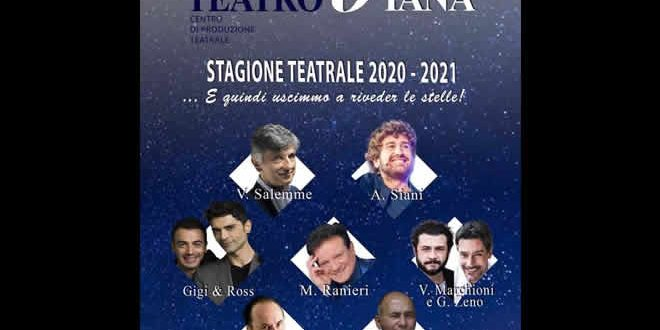 Teatro Diana, stagione teatrale 2020/21