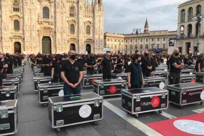 Bauli In Piazza a Milano. Foto dal Web