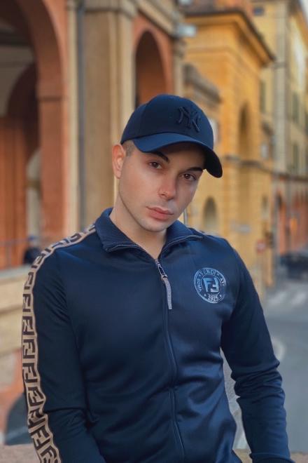 Federico Rutali. Foto da Instagram