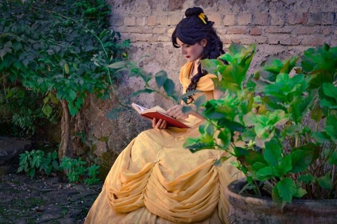 La principessa Belle al Fantastico Mondo del Fantastico