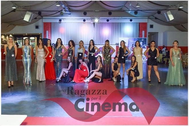 Le concorrenti di Una Ragazza per il Cinema 2020. Foto di Mario Buonanno