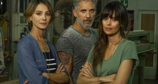 Nicole Grimaudo, Beppe Fiorello e Clauia Pandolfi per Gli orologi del Diavolo. Foto di Anna Camerlingo