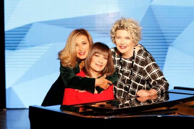Per Segnali Universali, le cantautrici Casale, Nava e Di Michele. Foto dal Web