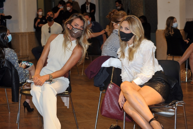 Rosy dilettuso e Mary Carbone al Milano Fashion Day 2020