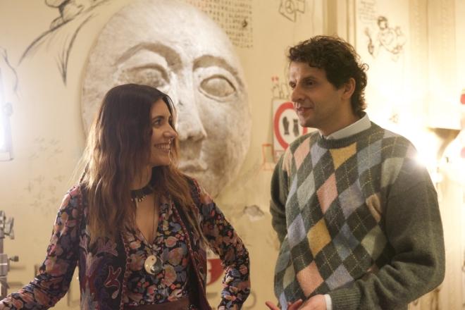 Serena Rossi e Marco Mario De Notaris in La tristezza ha il sonno leggero