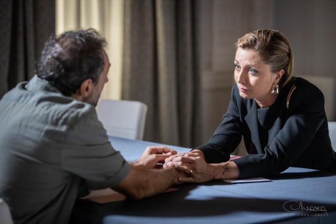 Un frame del film Stop! con Anna Ferzetti. Foto di Chiara Calabrò