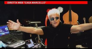Un frame di Casa Marcello Night Web Show
