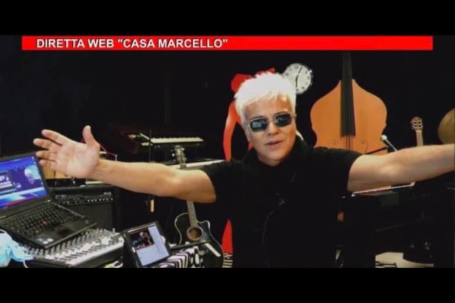 Un frame di Casa Marcello Night Web Show