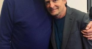Christopher Lloyd e Michael J. Fox. Foto dal Web
