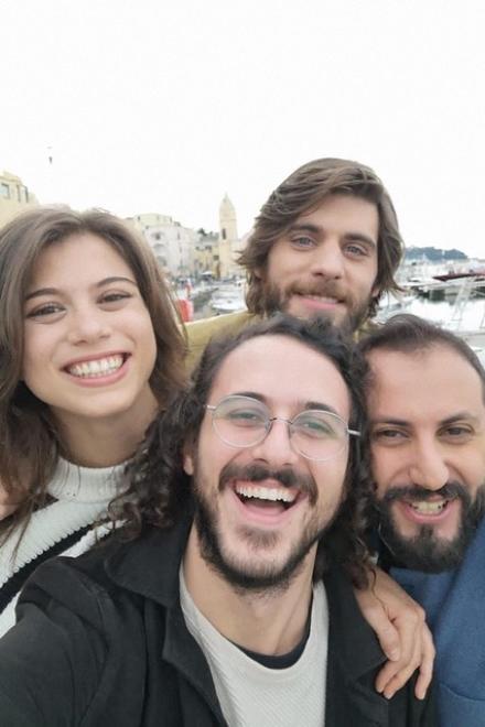 Cristina Cappelli, Gianluca Fru, Angelo Spagnoletti e Fabio Balsamo in Generazione 56K