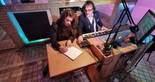 Roberto Zapp e Narymary Ianciano in studio