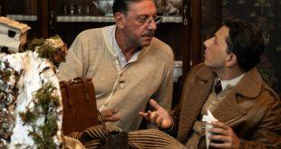 Sergio Castellitto e Adriano Pantaleo in Natale in casa Cupiello. Foto di Gianni Fiorito