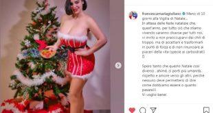 Francesca Giuliano e il post sexy su Instagram