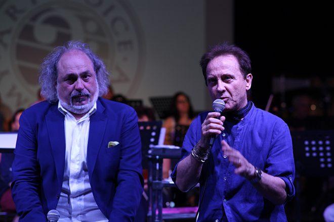 Diego Bosso e Roby Facchinetti per Young Pop Rock Music Award
