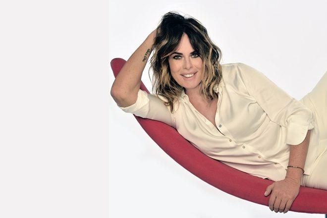 Paola Perego conduttrice de Il filo rosso