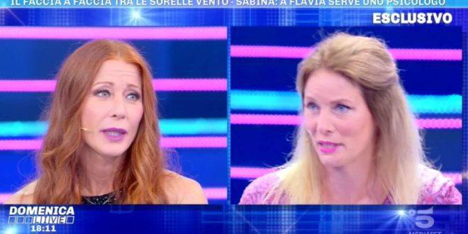 """Sabina Vento, sorella di Flavia, sulla """"presunta gelosia"""""""