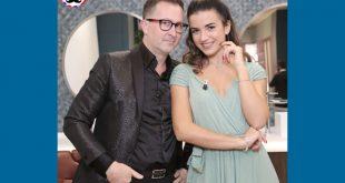 Thomas Incontri e Rossella Di Pierro, conduttori di Hair Master Man