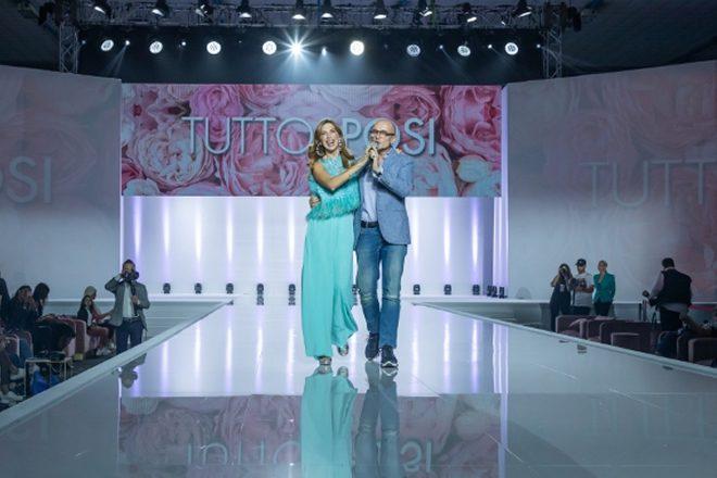 Veronica Maya ed Alfonso Signorini a TuttoSposi 2020. Foto di Alfredo Carbone