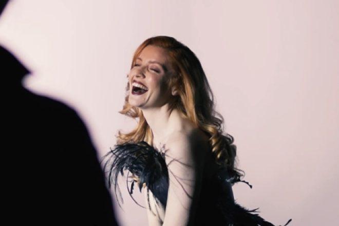 Noemi nella clip di Vanity Fair