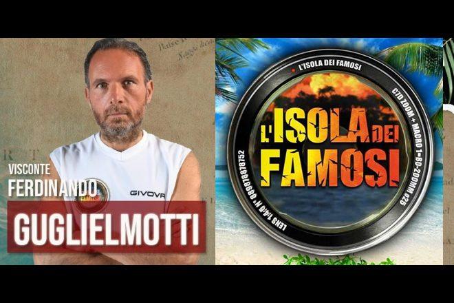 Il Visconte Ferdinando Guglielmotti a L'Isola dei Famosi 2021