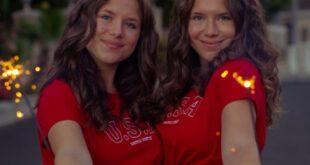 Le gemelle Bianca e Chiara D'Ambrosio