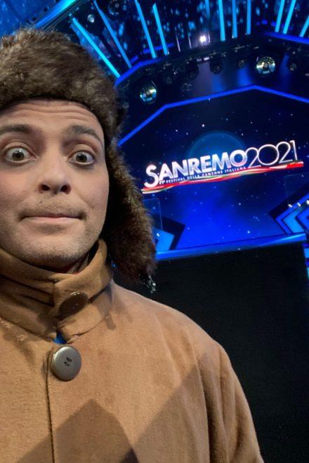 Luca Lombardo a Sanremo