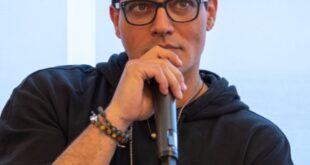 Gabriel Garko alla presentazione di Sull'orlo dell'oblio